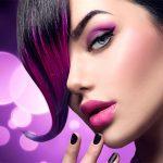 Parul tau va straluci in nuante de violet