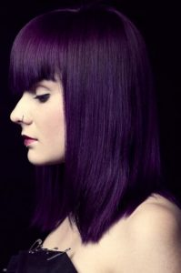nuanta par violet inchis