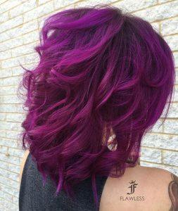 Nuante de violet inchis deschis
