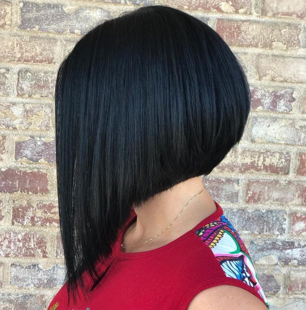 Tunsori A-line ascutite brunet
