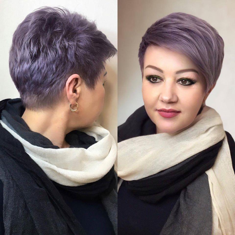 tunsori care nu se demodeaza violet
