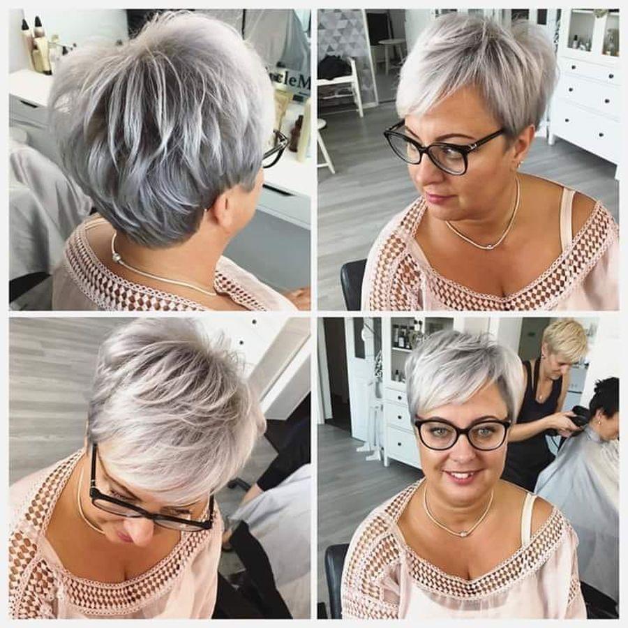 20 de tunsori pentru părul scurt, perfecte pentru femeile trecute de 50 de ani