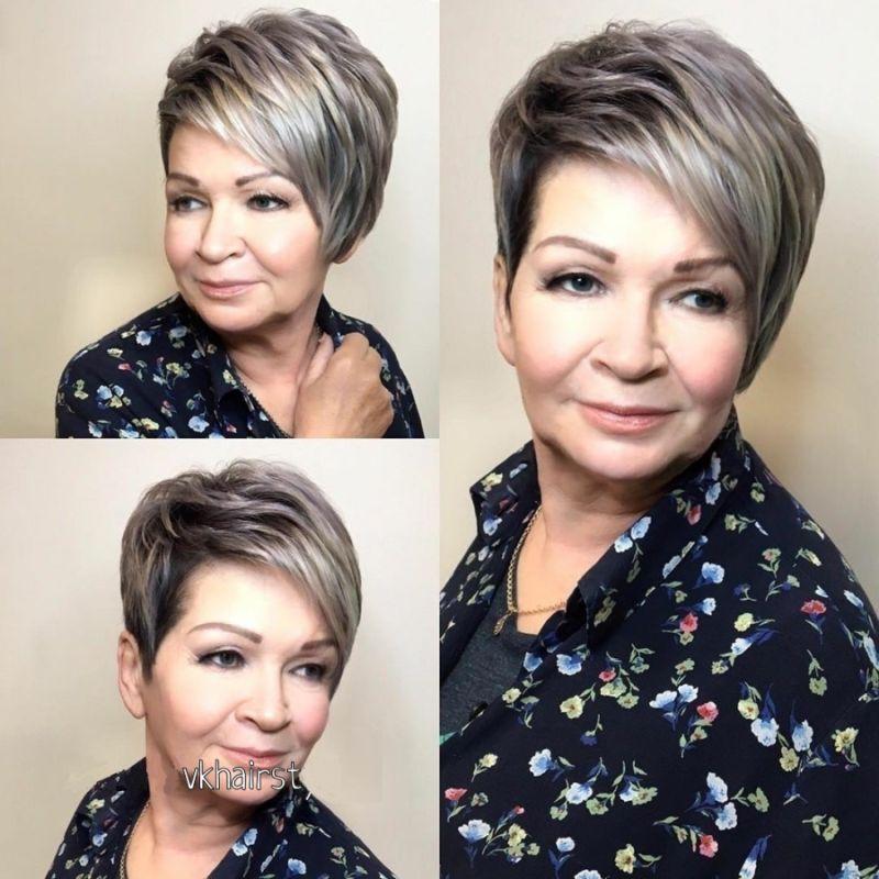 Tunsori scurte moda femei doamne 50 ani