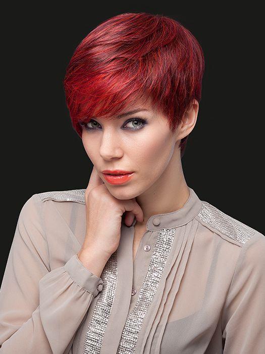 Tunsori scurte moda femei roscat