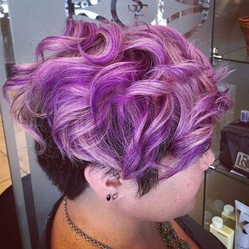 Nuante de par violet,