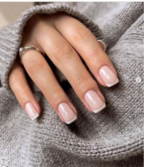 unghii gel scurte la moda